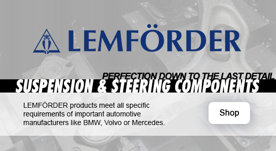 Find Lemforder Control Arms, Tie Rods, Engine Mounts and More In Our Catalog!