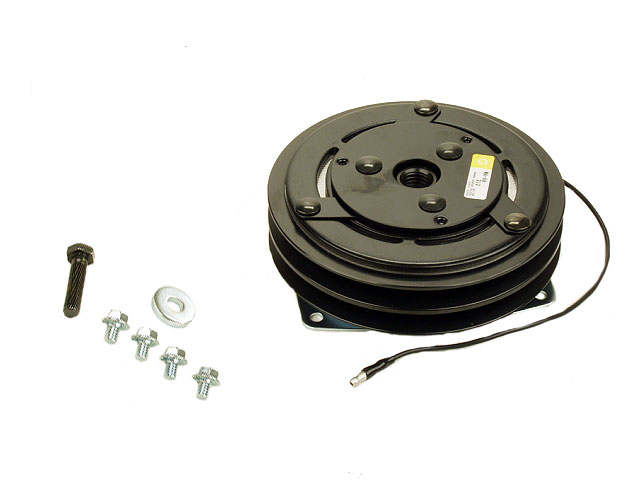 0001325908 Four Seasons A/C Compressor Clutch; York-Type Assembly with Double Groove Pulley