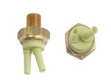 0001408060 Genuine Mercedes Thermo-Vacuum Valve; Yellow; 70 Degree C