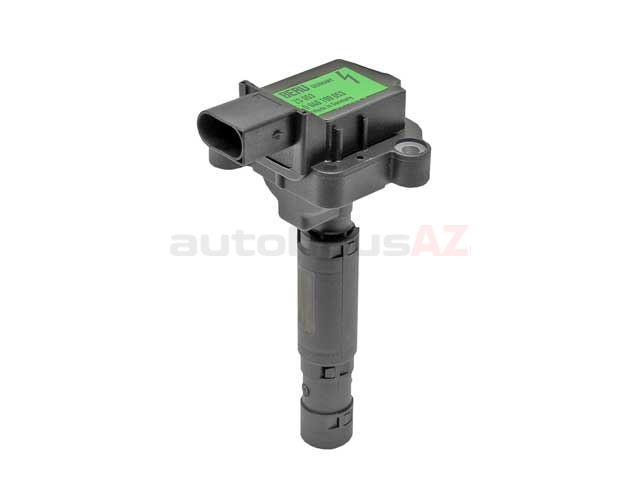 0001501580 Beru Direct Ignition Coil & Boot Assembly; Assembly with Spark Plug Connector