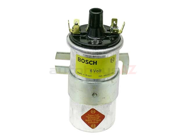 00016 Bosch Ignition Coil; 6 Volt