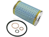 0001800009 Hengst Oil Filter Kit; Cartridge Filter; 115 x 68mm (approx. 4.5 inch x 2.7 inch)