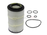 0001802609ML Mahle Oil Filter Kit; Polyester Fleece Media, Extended Service