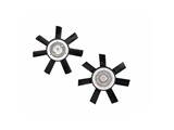 0002008223 Genuine Fan Clutch; With Fan Blades