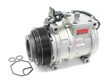 0002300511 Denso AC Compressor; Complete with Clutch; R134A Compatible; Nippondenso 10PA17C