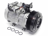 0002302411 Denso (OE Rebuilt) AC Compressor; Complete With Clutch