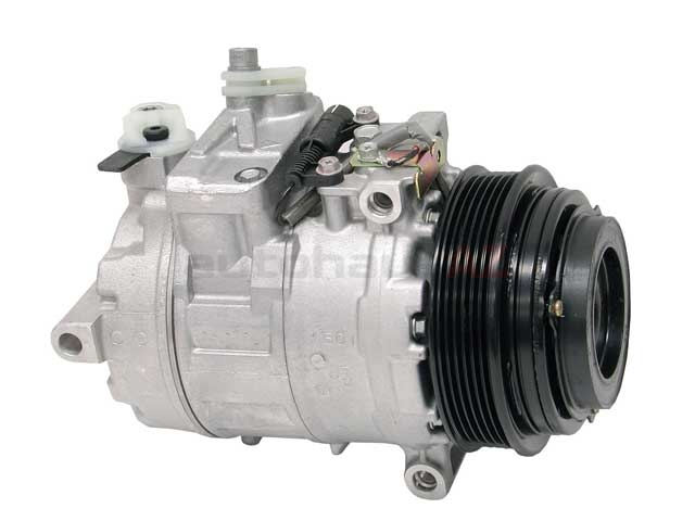 0002307011 Denso AC Compressor; Complete with Clutch; 7SB16C
