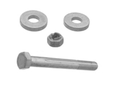 0003300018OE Genuine Mercedes Eccentric Bolt Kit; Front Inner Lower