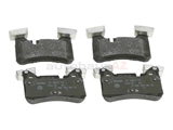 0004203400 Genuine Mercedes Brake Pad Set; Rear