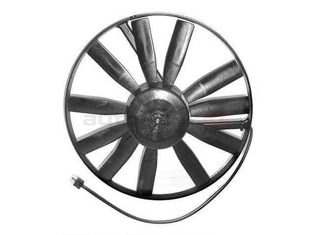 0005007993 Vemo Engine Cooling Fan Assembly; Complete Fan Assembly (Motor with Blades); 15 Inch