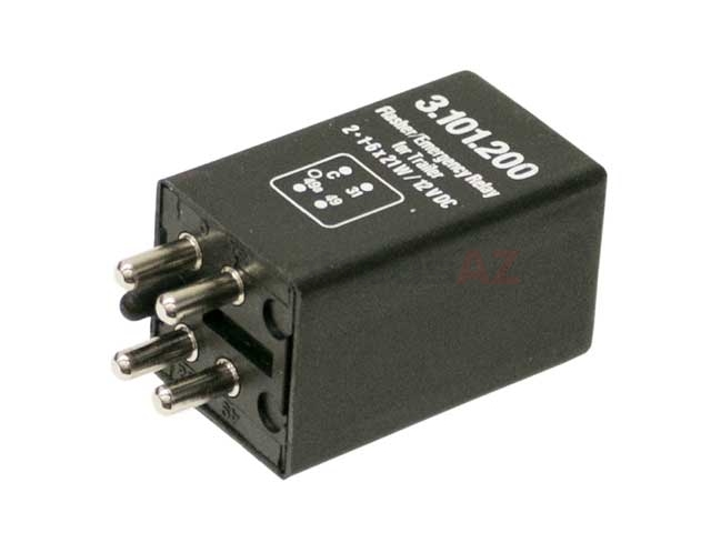 0008211063 Kaehler (KAE) Turn Signal/Flasher Relay; For Emergency Flasher and Turn Signal
