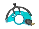 0008331740 Febi-Bilstein AC/Heater Control Lever Assembly; Left Fresh Air/Heater Sliding Lever with Switch Attached - Blue/Green