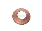 0008350298 Santech O-Ring/Gasket/Seal; AC Line Copper Seal; Dished Shape; 7mm ID/13mm OD