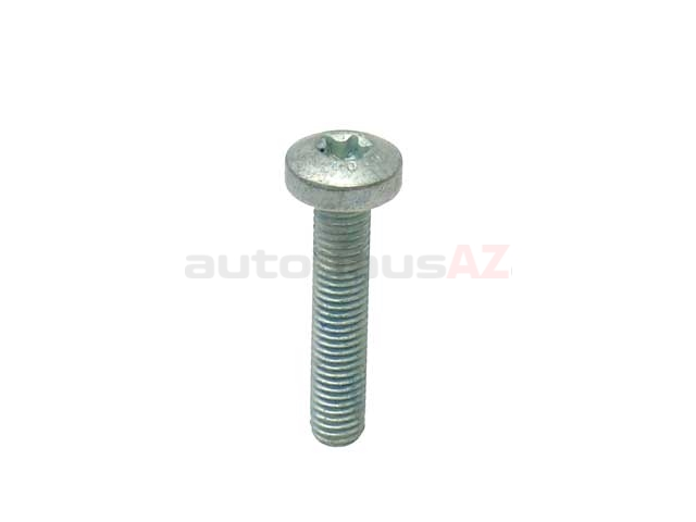 000912010222 Genuine Mercedes Cylinder Head Bolt; M10x50mm Torx Head; At Camshaft Bearings