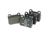 001420012005 Genuine Mercedes Brake Pad Set; Rear