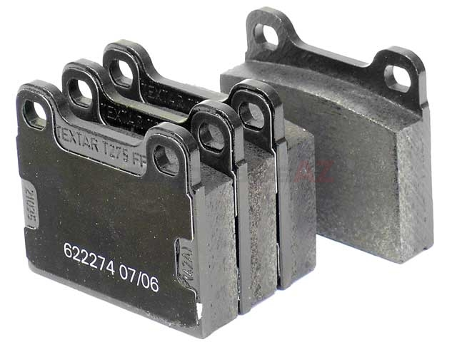 0014200620 Textar Brake Pad Set; Rear; OE Compound