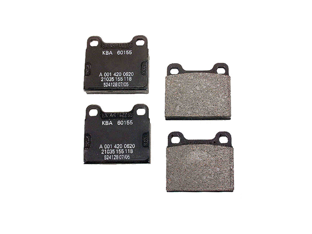 001420062041 Genuine Mercedes Brake Pad Set; Rear