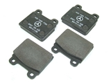 0014207720 Genuine Mercedes Brake Pad Set; Front