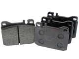 0014207820 Textar Brake Pad Set; Front; OE Compound