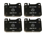 0014207820OE Genuine Mercedes Brake Pad Set