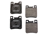0014209520 Genuine Brake Pad Set; Rear