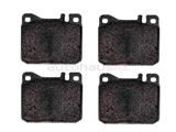 0014209920 Pagid Brake Pad Set; Front; OE Compound