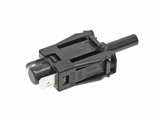 0015458714 Hella Door Jamb Switch; Threaded Mount Contact Switch; 2 Spade Connections