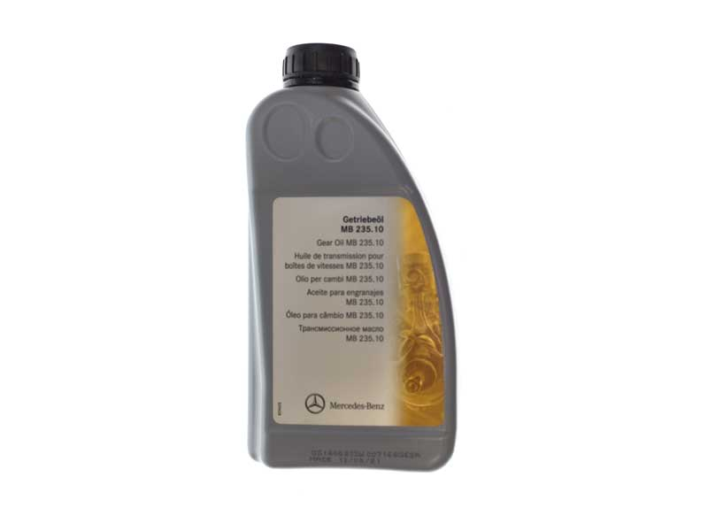 001989260310 Genuine Mercedes Manual Trans Fluid; 1 Liter