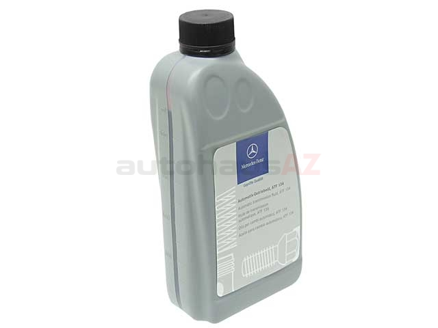 001989680313 Genuine Mercedes ATF, Automatic Transmission Fluid; ATF134; 1 Liter