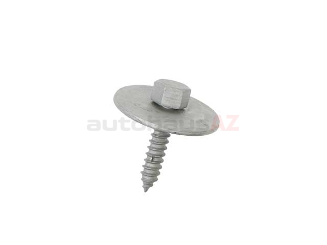 0019906036 Genuine Mercedes Screw; Sheet Metal Screw; M4.8x19mm