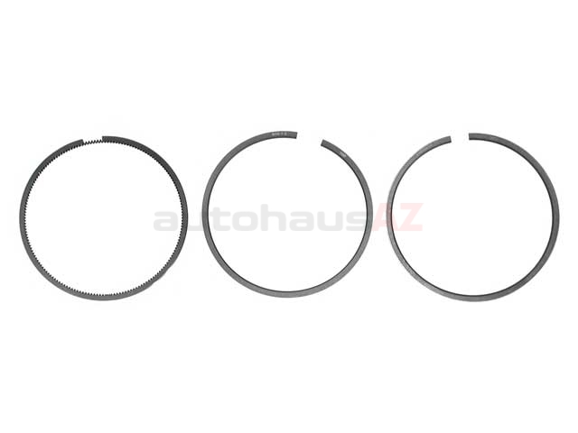 0020305224 Goetze Piston Ring Set; Standard; 89.00mm; 2.5x2.0x3.0
