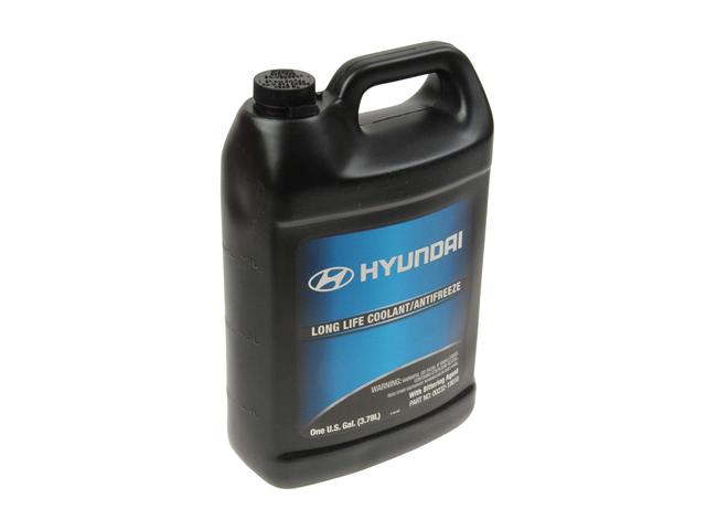 Hyundai Sonata Parts >> Genuine Hyundai 0023219010 Antifreeze/Coolant; Green; 1 Gallon - Hyundai, Kia