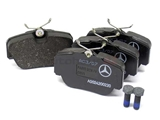 0024200220 Genuine Mercedes Brake Pad Set; Front