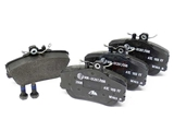 0024202220 ATE Brake Pad Set; Front; OE Compound