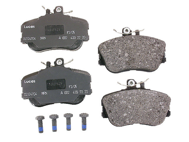 0024202220OE Genuine Mercedes Brake Pad Set; Front
