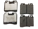 002420262005OE Genuine Mercedes Brake Pad Set; Front