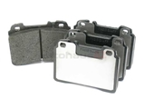 0024203720 Pagid Brake Pad Set; Front; OE Compound