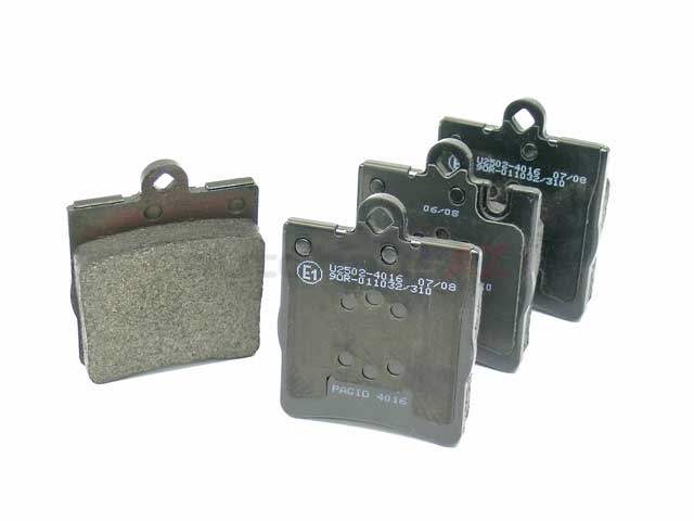 0024205220 Pagid Brake Pad Set; Rear with 1 Pin Retainer; OE Compound