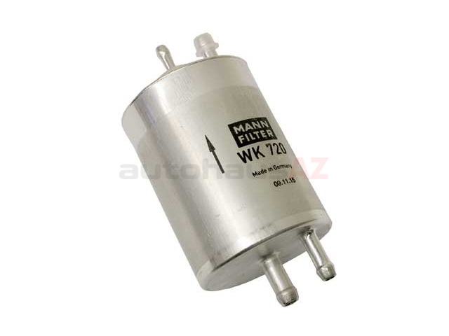 0024773001 OE Supplier Fuel Filter; With 4 Push-On Fittings; 75mm Diameter