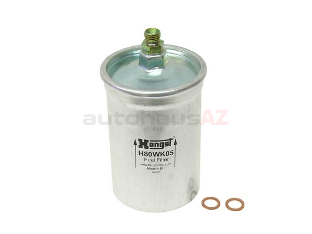 0024774401 Hengst Fuel Filter; With Threaded Fittings; 82mm Diameter x 170mm Length