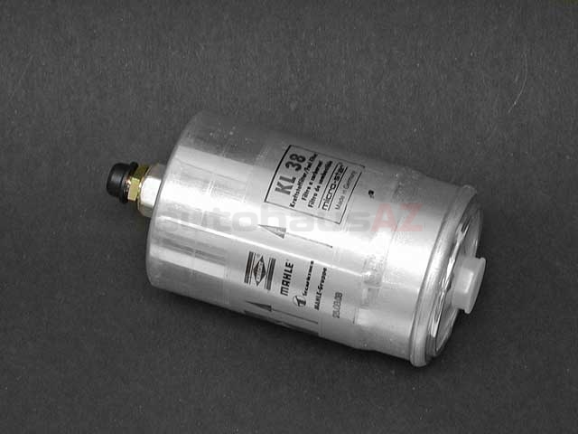 0024774401ML Mahle Fuel Filter; With Threaded Fittings; 82mm Diameter x 170mm Length