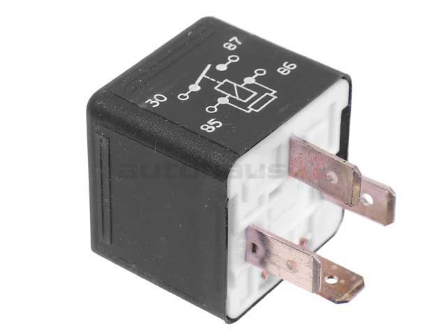 0025421319 Hella Multi Purpose Relay; 4 Prong With Resistor