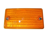 0028261790 Ulo Turn Signal Light Lens; Left Lens Below Bumper; Amber