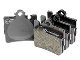 0034201920OE Genuine Mercedes Brake Pad Set; Rear