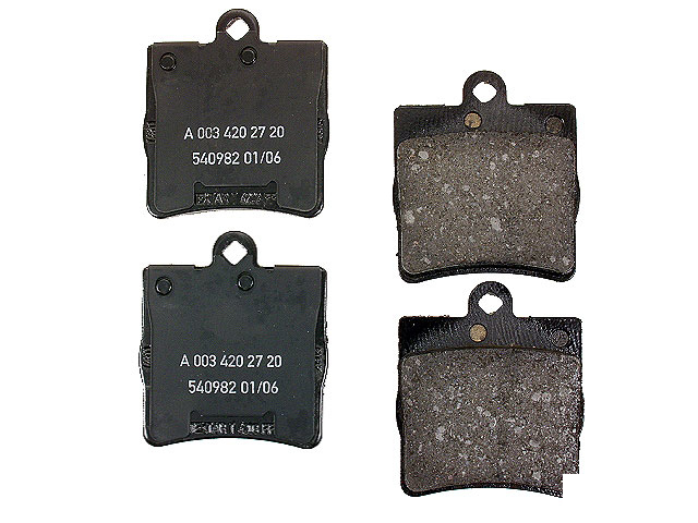 Genuine Mercedes 0034202720OE Brake Pad Set Chrysler