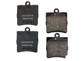 0034202720 Genuine Mercedes Brake Pad Set; Rear