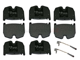 0034207120OE Genuine Mercedes Brake Pad Set; Front