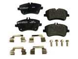 0034209520 Pagid Brake Pad Set; Front; OE Compound