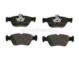 0044200220OE Genuine Mercedes Brake Pad Set; Front