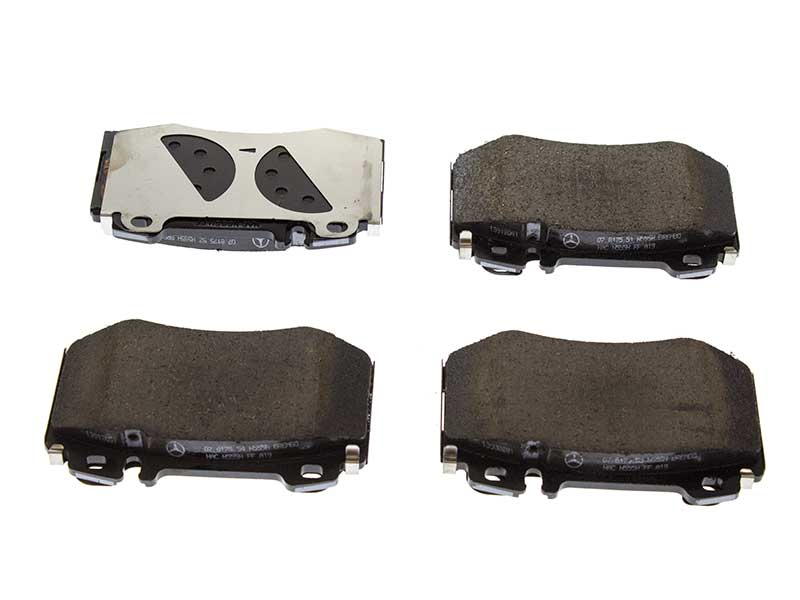 0044200520OE Genuine Mercedes Brake Pad Set; Front